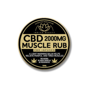 CBD Muscle Rub 2000mg (50ml)