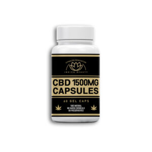 1500 mg CBD Hemp Oil Gel Capsules Full Spectrum