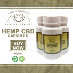 900 mg CBD Hemp Oil Gel Capsules Full Spectrum