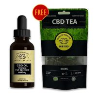 Natural 6000mg CBD Oil Tincture UK | My Indica Beauty
