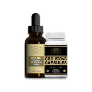 1500mg Full Spectrum CBD Oil & Capsule Deal