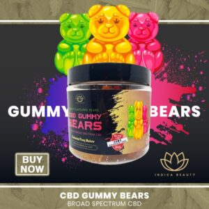Large CBD Gummy Bears 2000mg