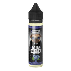 MIB CBD E-Liquid 60ml (Blueberry Haze)